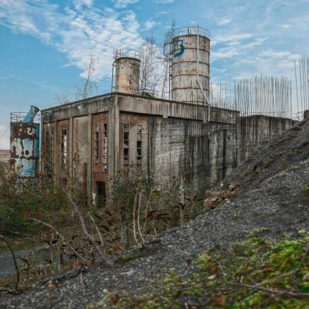 Carolo Béton, usine de béton (anciennement un charbonnage) abandonnée en Belgique.