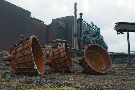 Abandoned steel plant in Belgium. Aciérie désaffectée en Belgique. Visite de ce géant d'acier sur Urbex Vision